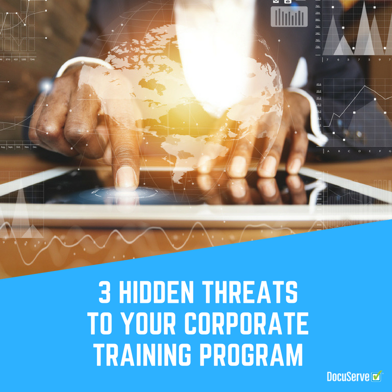 Hiddren Threats to your Corporate Training Program