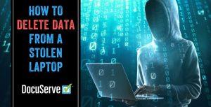 Delete Data Stolen Computer